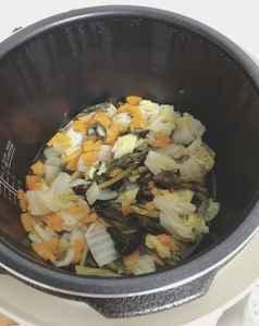 電気圧力鍋で作った野菜