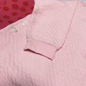 パジャマの袖口